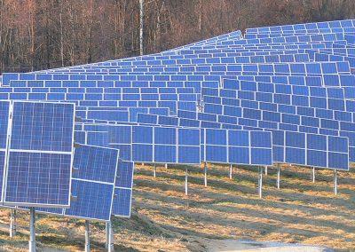Fotovoltaická elektráreň Mokrá Lúka prevádzkovaná s využitím služieb spoločností HTEnergy a HTMAS.