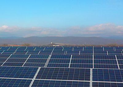 Fotovoltaická elektráreň prevádzkovaná s využitím služieb spoločností HTEnergy a HTMAS.